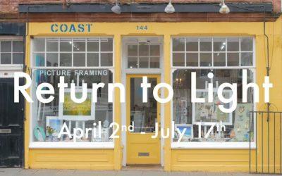 Return to Light at Coast Gallery, Dunbar