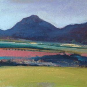 Claire Beattie, Pink Field and Eildon Hills