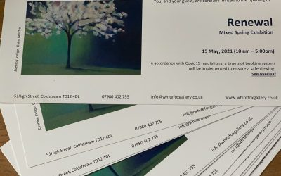 Renewal at White Fox Gallery, Coldstream