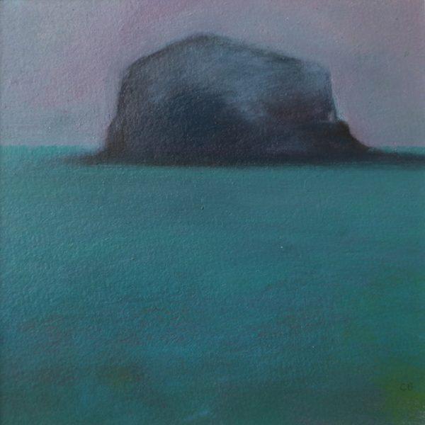 Bass Rock - Pink Sky